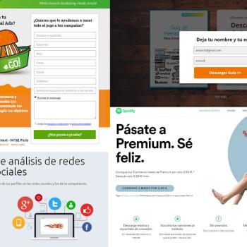 vender servicios a través de landing pages
