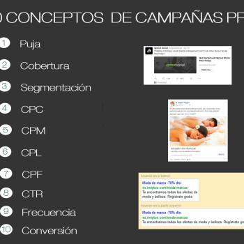 conceptos clave en campañas PPC