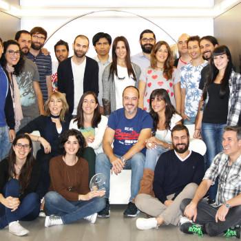 equipo de MDirector premiado como mejor herramienta de email marketing en los Premios eAwards