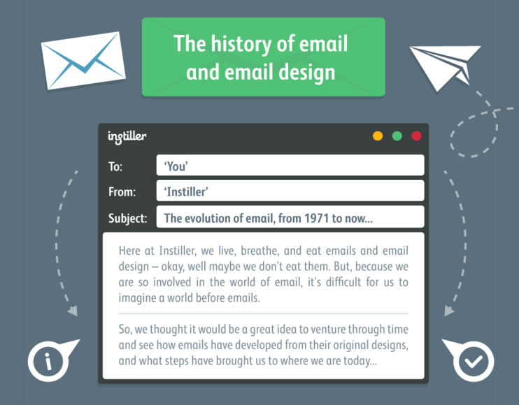 diseño de mensajes de email