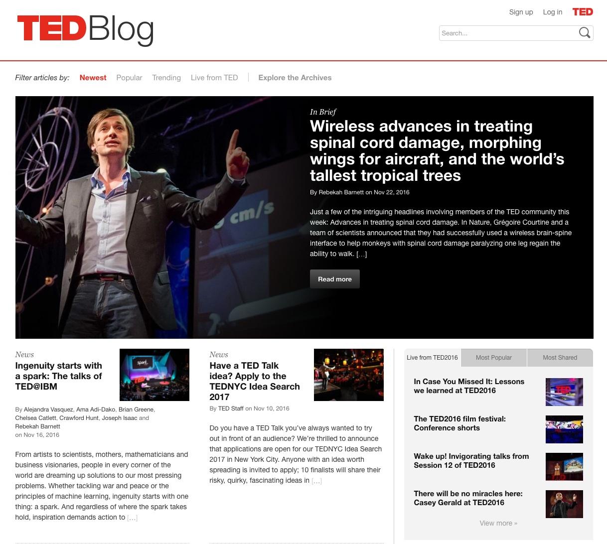 tipos de publicidad online : blogs
