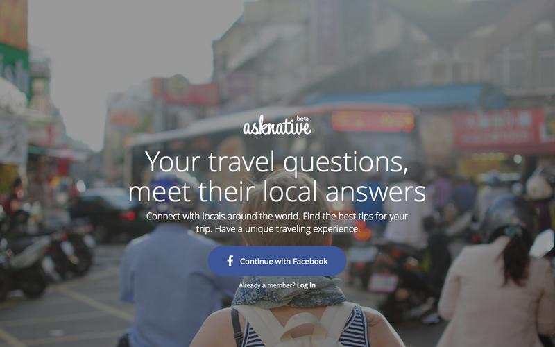 características de una landing page: AskNative