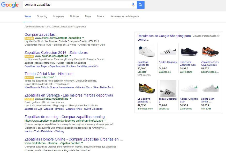 cambios en los anuncios de búsqueda de Google