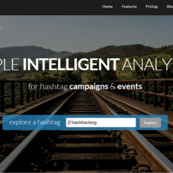 herramientas para community management: hashtracking