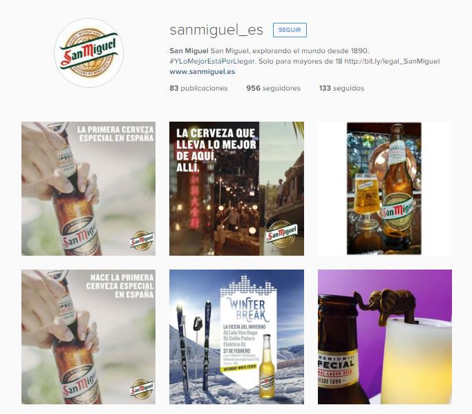 San Miguel Instagram