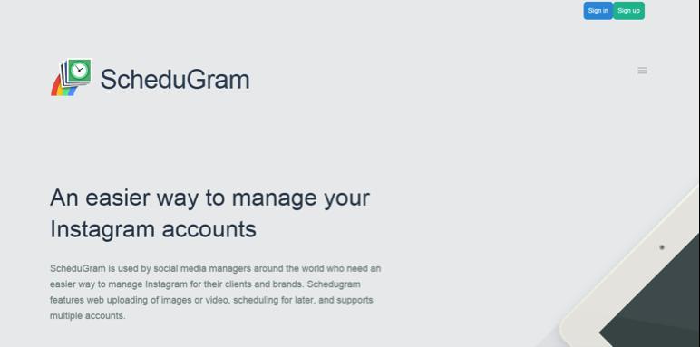 automatizar publicaciones con Schedugram