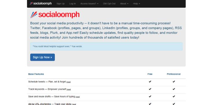 automatizar publicaciones con Socialoopmh