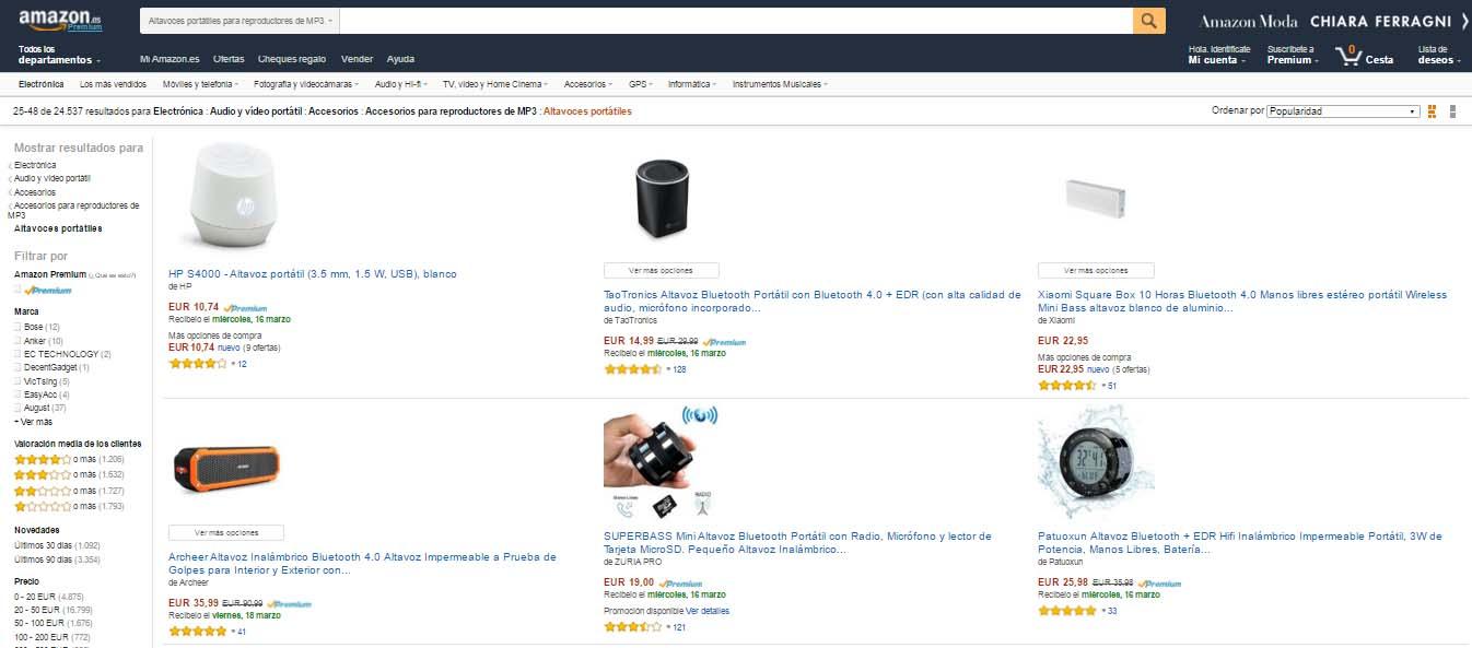 Posicionamiento SEO en Amazon: Qué hay que hacer para que tu producto salga primero
