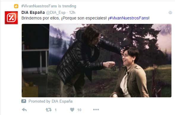 publicidad en Twitter - anuncio