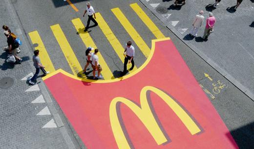 Marketing de guerrilla : MacDonalds