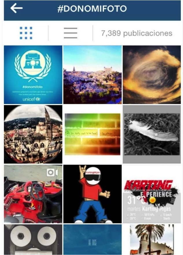 marketing en Instagram : UNICEF