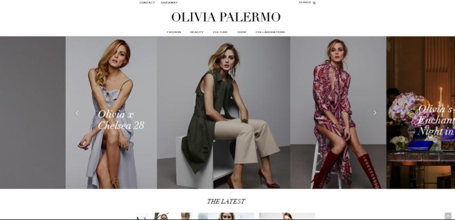 Olivia Palermo, instagrammer