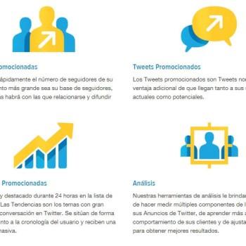 publicidad en Twitter : Tipos de anuncios