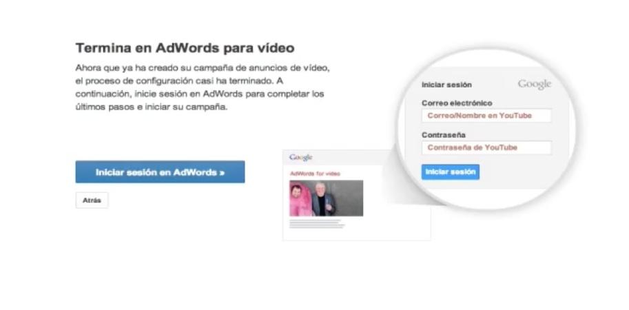 vincula los anuncios de Youtube con Adwords