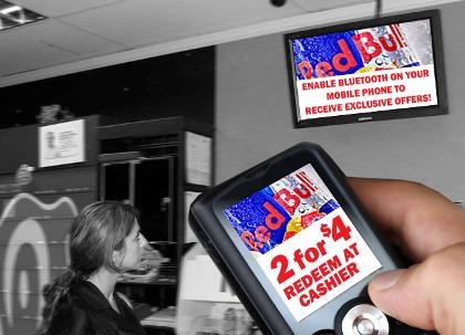 marketing de proximidad: bluetooth
