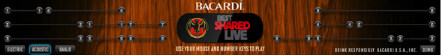 banners creativos : Bacardi