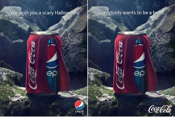 mensaje subliminal: Pepsi Vs Coke