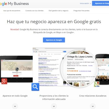 Cómo utilizar Google My Business