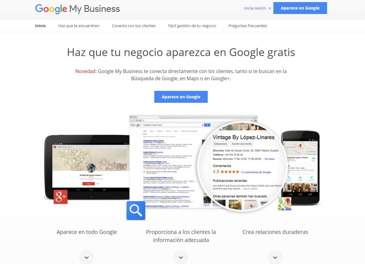 Cómo utilizar Google My Business