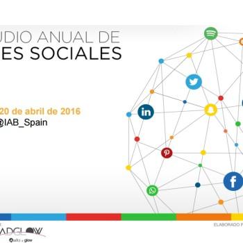 informe de 2016 del IAB sobre el uso de redes sociales
