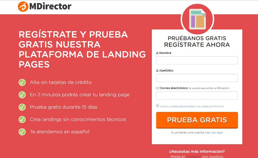 incrementar conversiones de landing pages