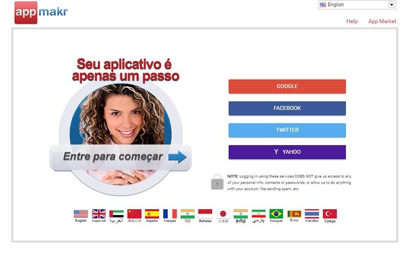 convertir un blog en app con AppMKR