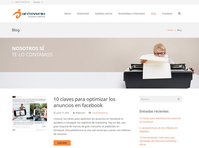 Blog de Antevenio