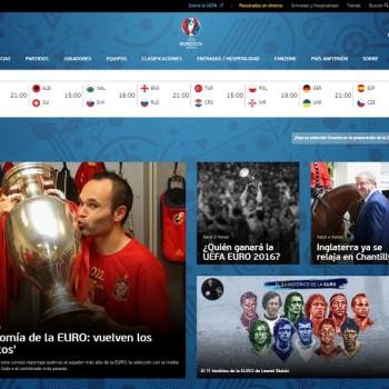 relación entre las marcas y la Eurocopa