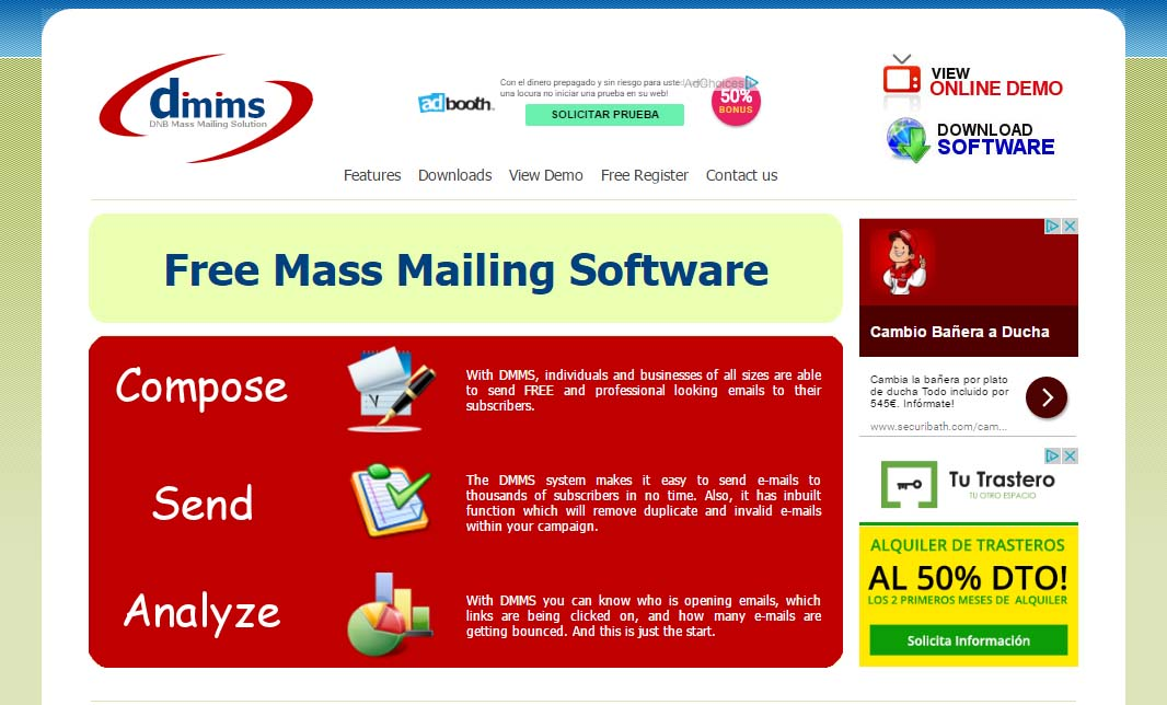 DNB Mass Mailing Solution