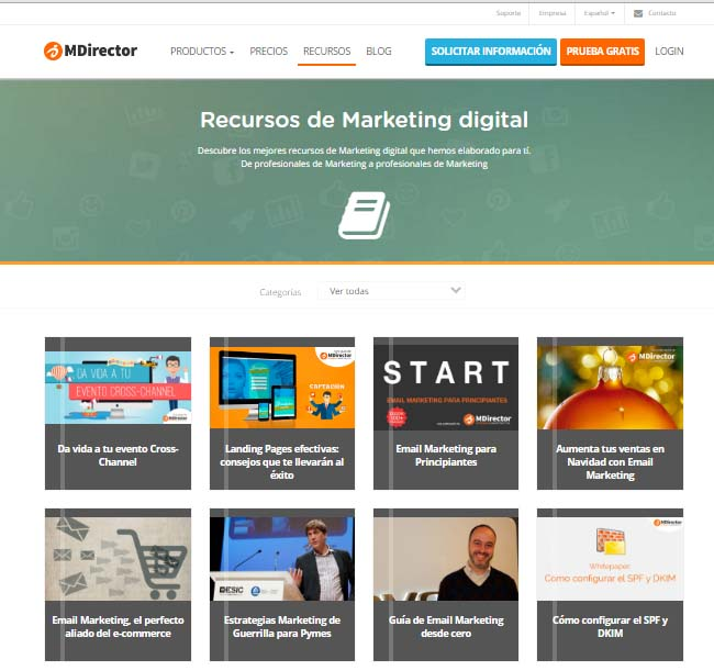 marketing de contenidos MDirector
