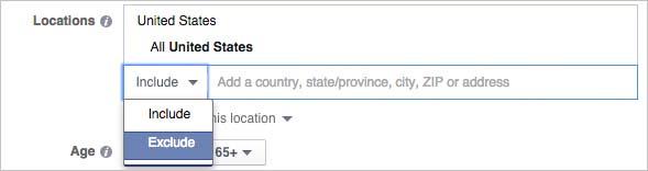 segmentación por localización en facebook