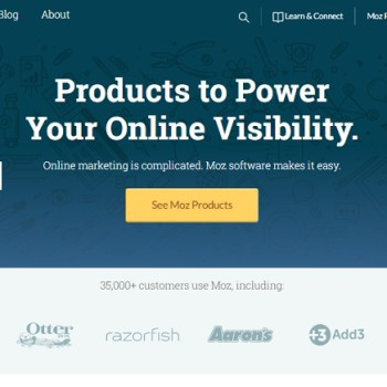 Domain authority y Page authority de Moz