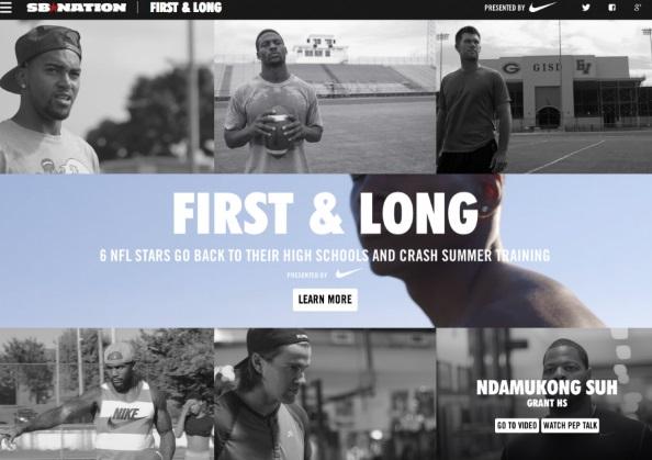Formatos de publicidad nativa:Nike
