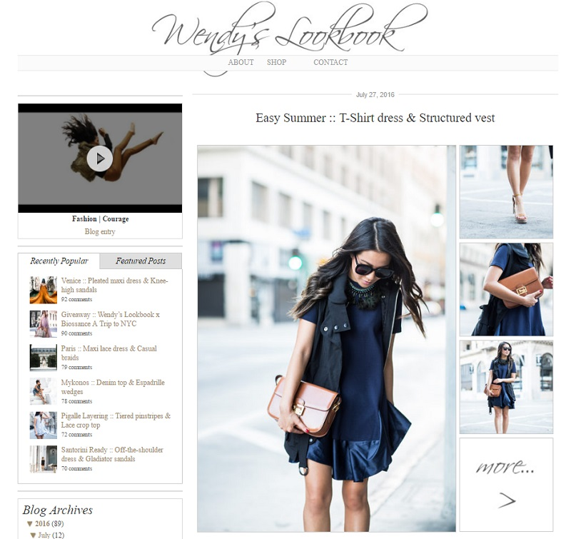 campañas con influencers: Wendys lookbook