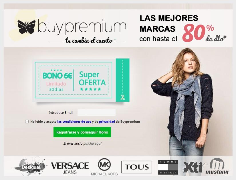 campañas de captación de registros: Buypremium