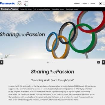 marcas y Olimpiadas: panasonic