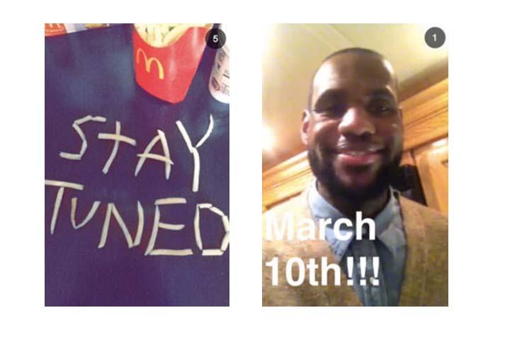 McDonalds Snapchat