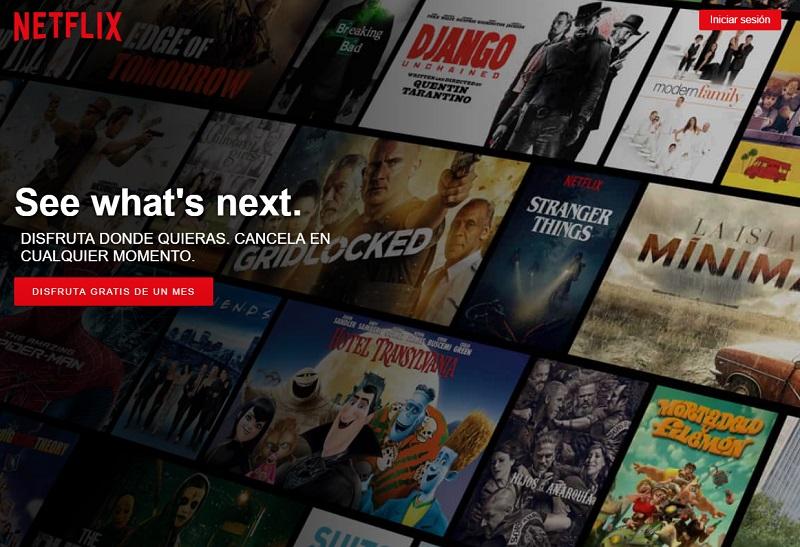 CTAs para mejorar la conversión: Netflix