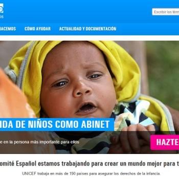 CTAs para mejorar la conversión: Unicef