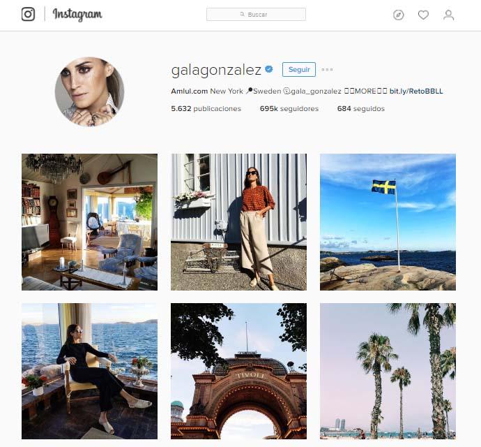 claves para elegir influencers: Gala González