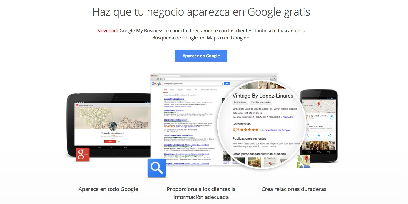 SEO local con Google My Business