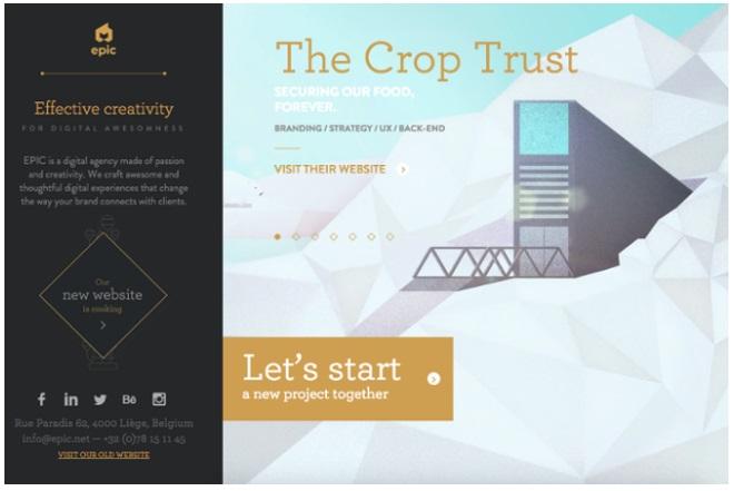 CTAs para mejorar la conversión: Crop trust