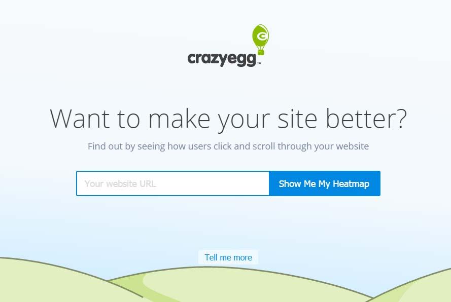 Herramientas para visualizar el comportamiento de los usuarios: CrazyEgg