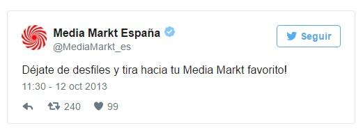 crisis en redes sociales mal gestionadas: Media Markt