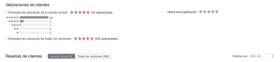 conseguir descargas de apps con reseñas