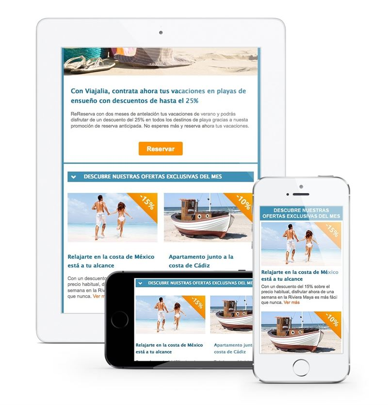 plantillas para newsletters mobile: MDirector