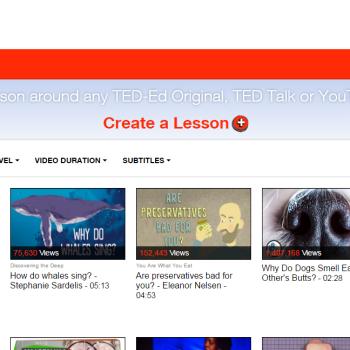 espacios de formación digital: TED Ed lessons