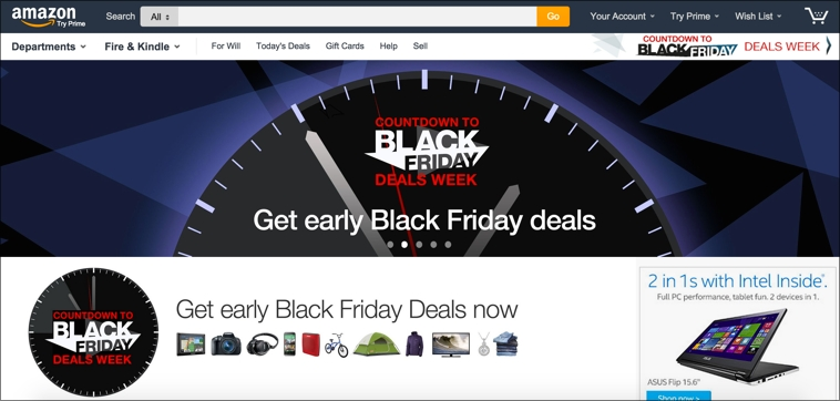 marketing para Black Friday: landing pages
