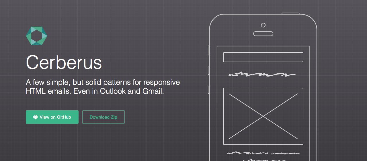 templates para newsletters mobile: Cerberus