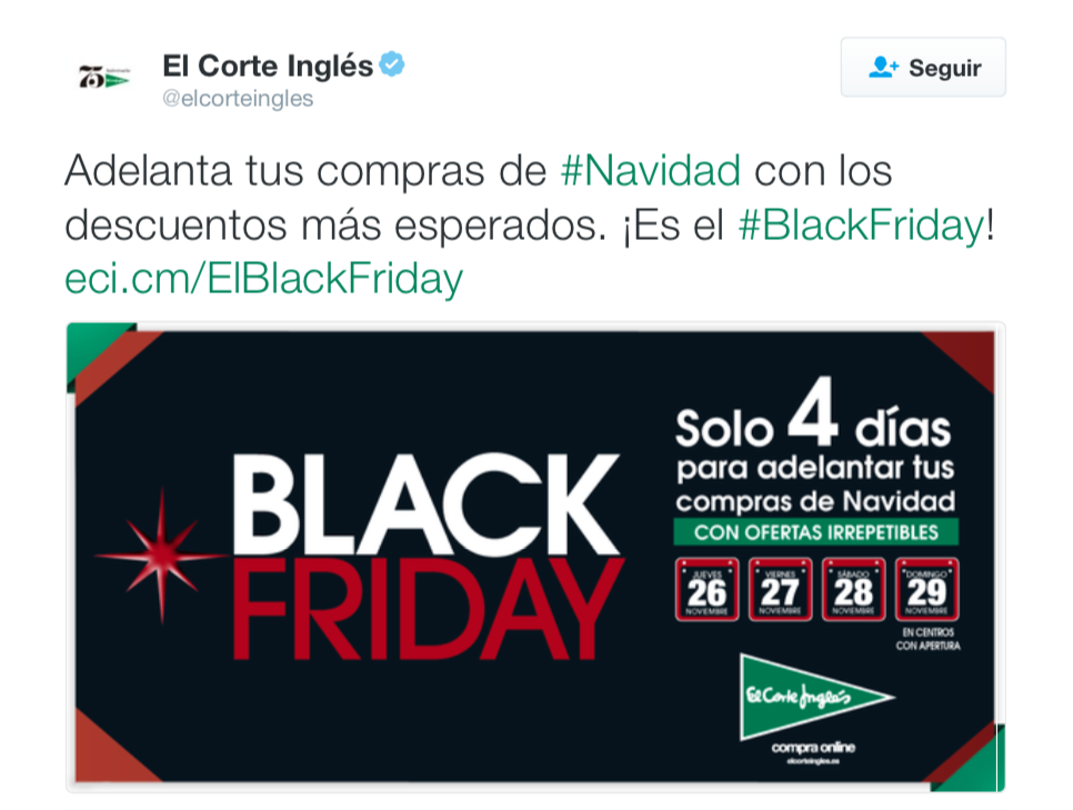 marketing para Black Friday: redes sociales